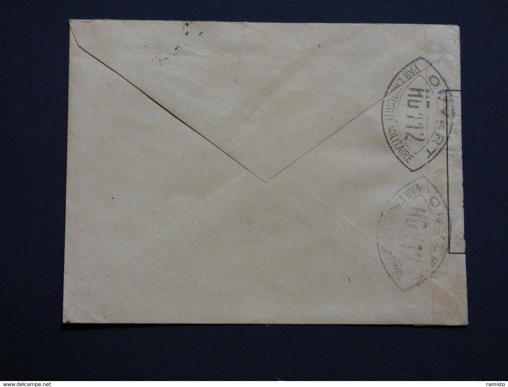 SUPER LOT - 38 Lettres Avec Censure Française - 39/40 (début Des Hostilités) - Voir Scans - Marcophilie (Lettres)