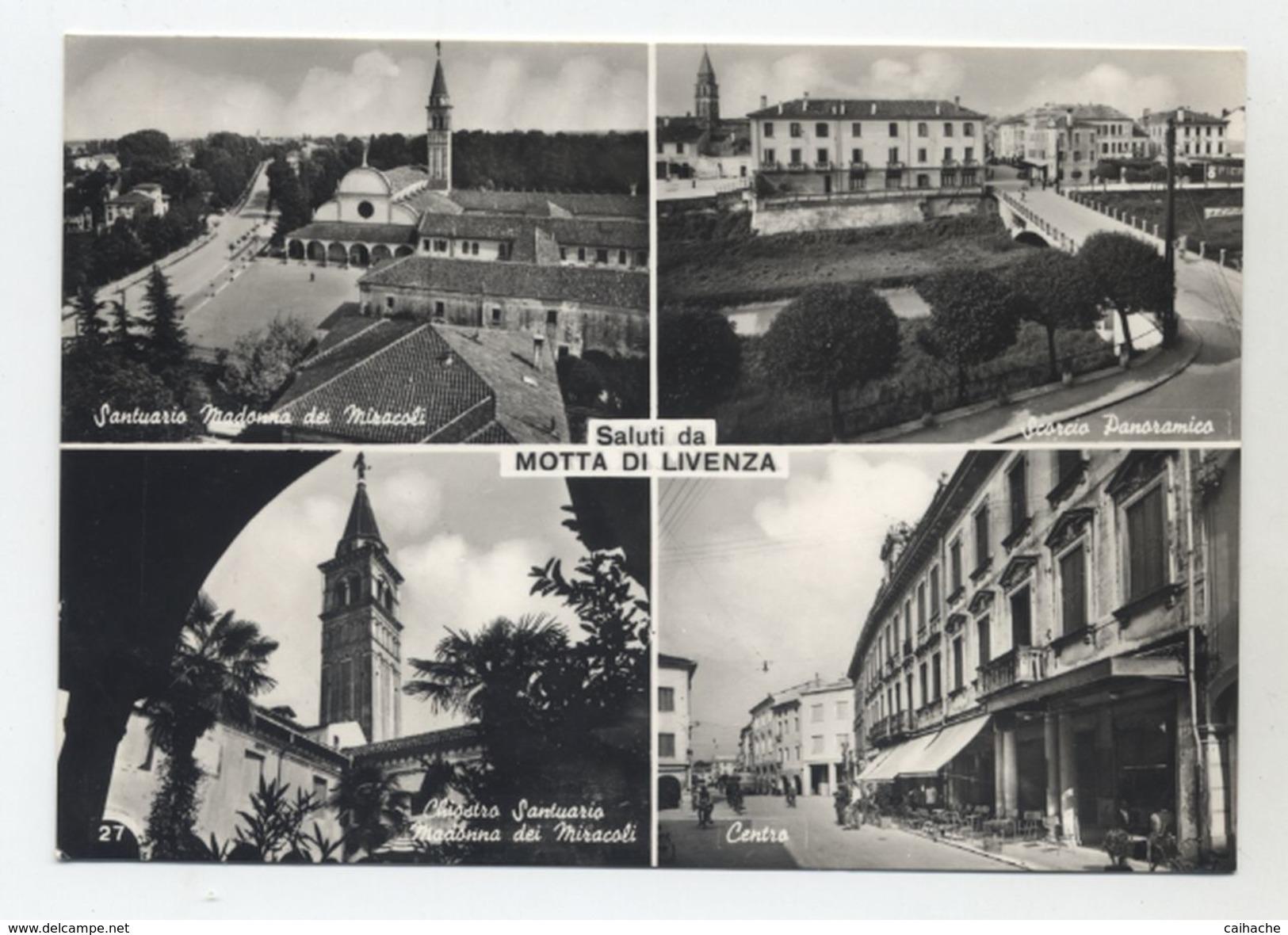 ITALIE - Saluti Da Motta Di Livenza - Multi-vues Peu Courante - - Treviso
