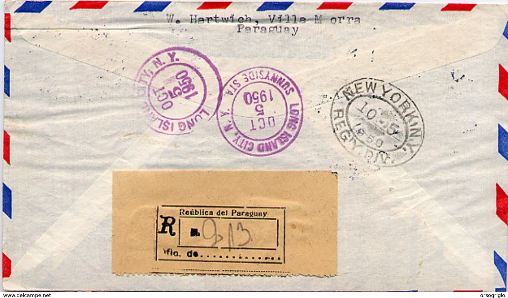 PARAGUAY - PRESIDENT FRANKLIN  DELANO  ROOSEVELT - Celebrità