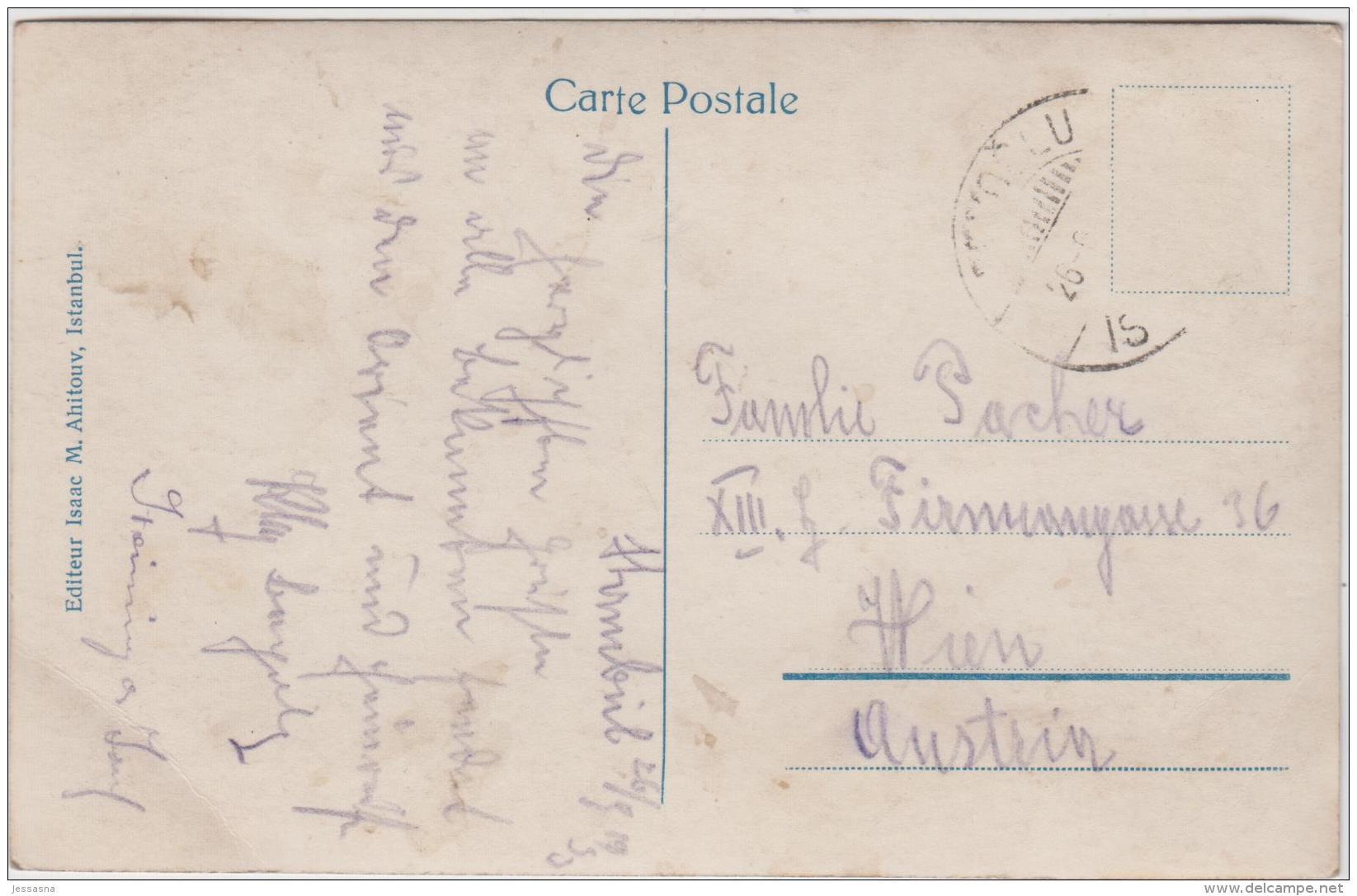 AK - ISTANBUL - Hafenansicht Mit Galatabrücke 1933 - Türkei