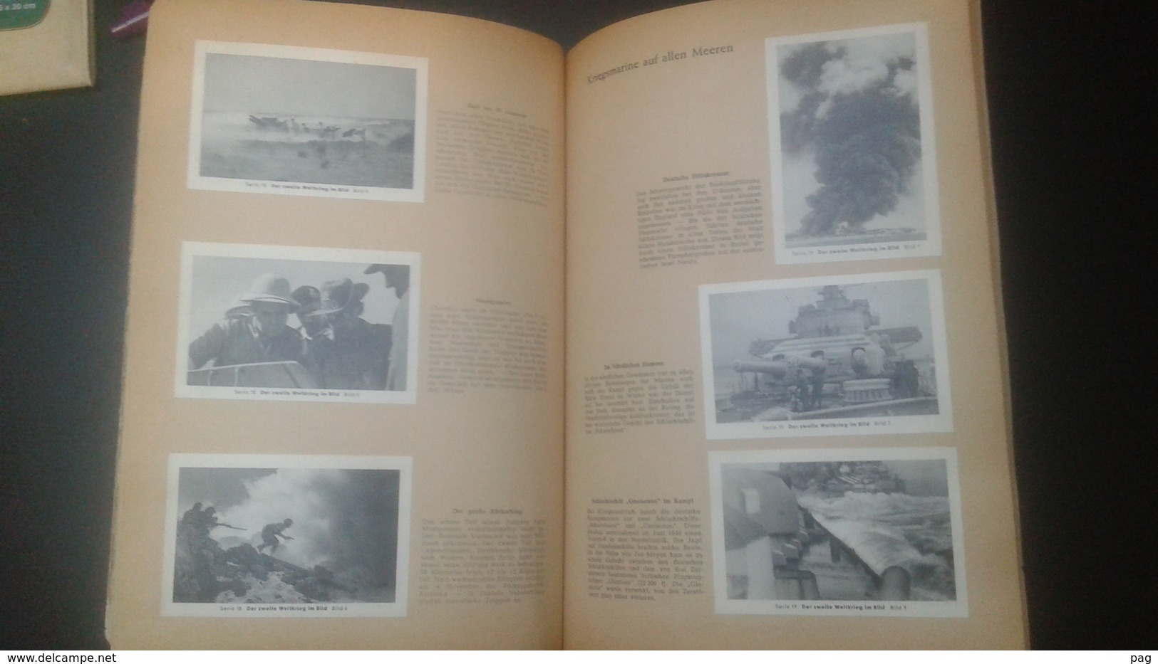Der Zweite Weltkrieg Im Bild - Band 1 - Complete Book With Self Adhesive Pictures (70 Pages With More Than 200 Pictures) - Deutschland