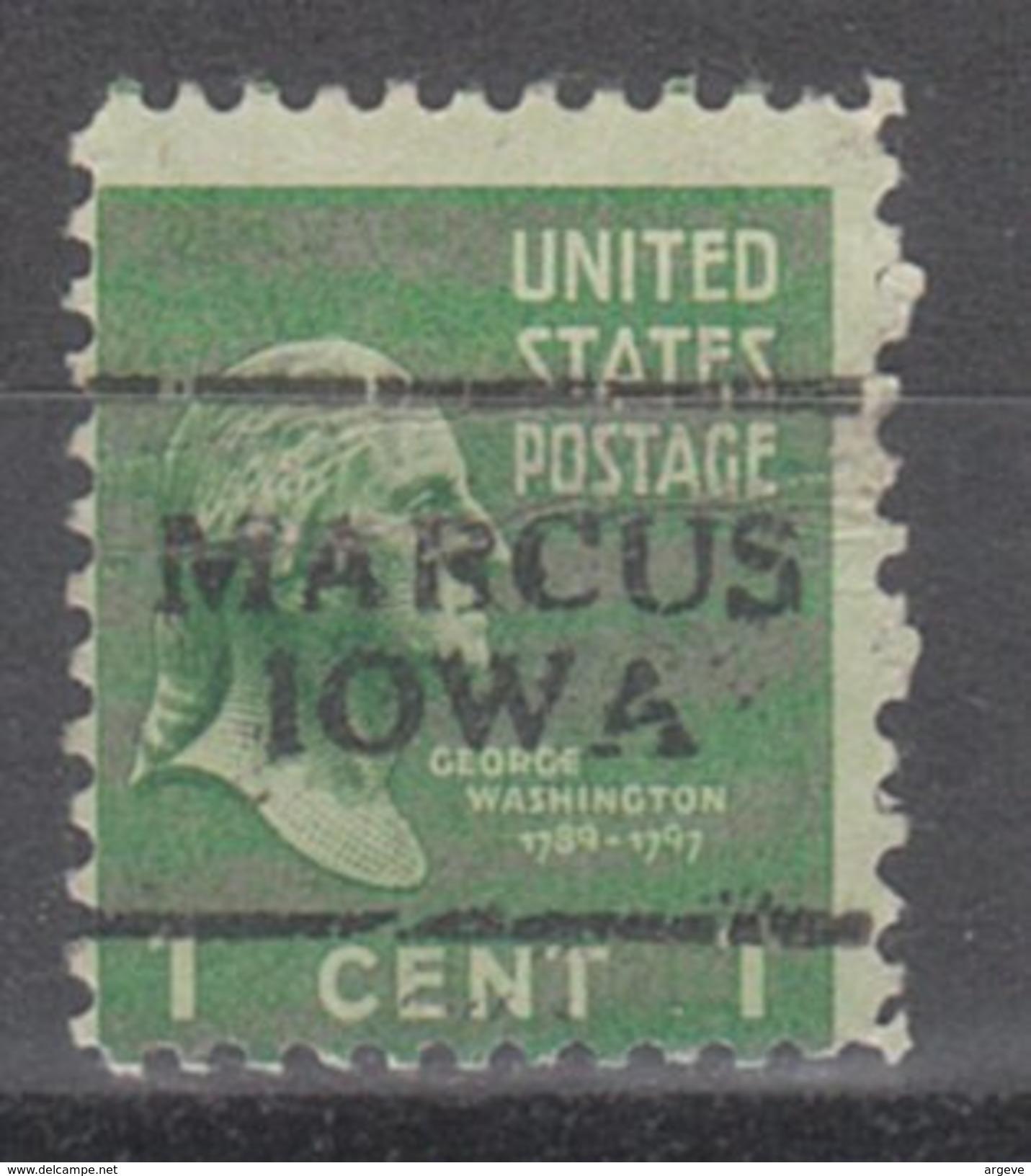 USA Precancel Vorausentwertung Preos Locals Iowa, Marcus 701 - Vereinigte Staaten