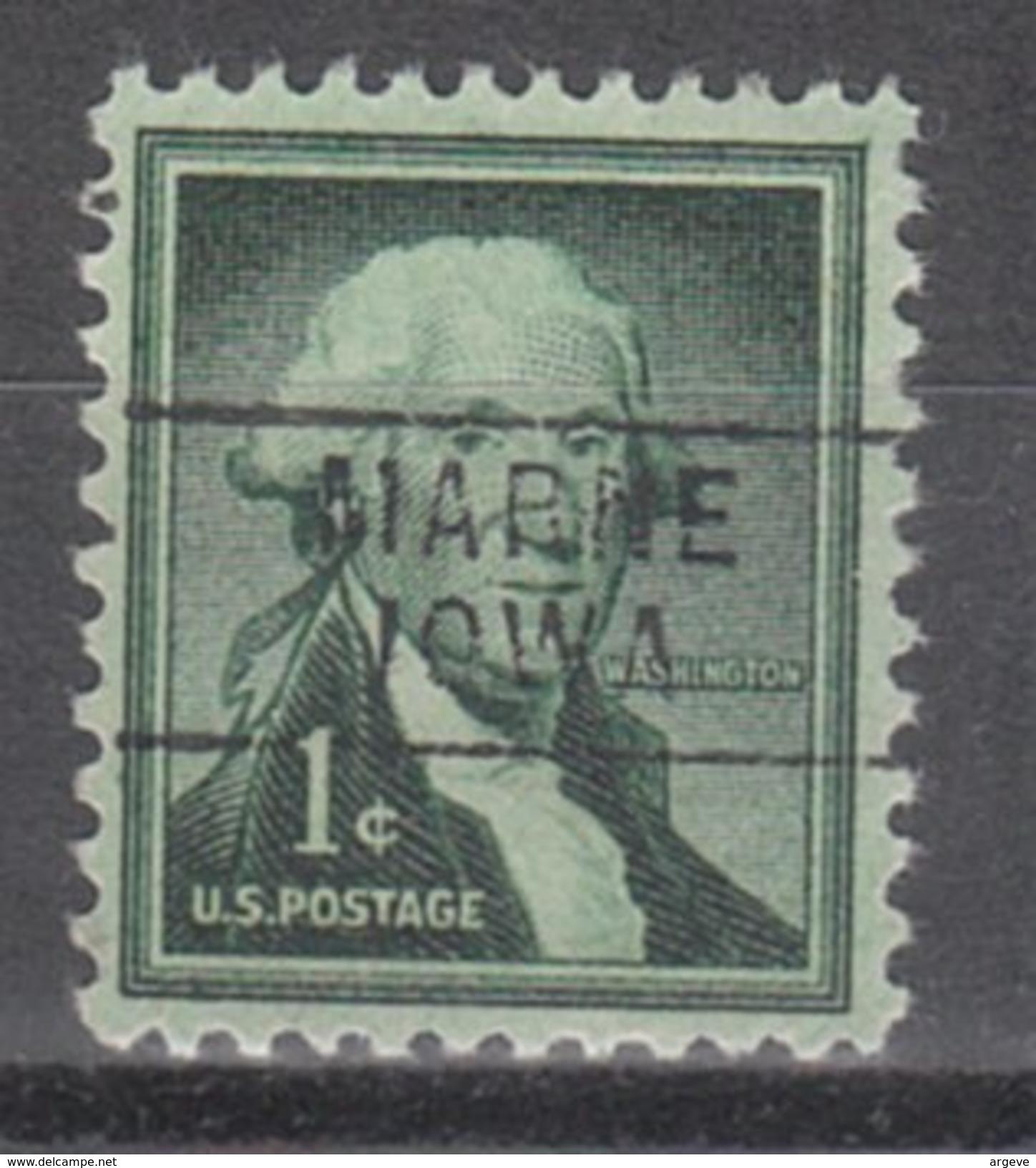 USA Precancel Vorausentwertung Preos Locals Iowa, Marne 745 - Vereinigte Staaten