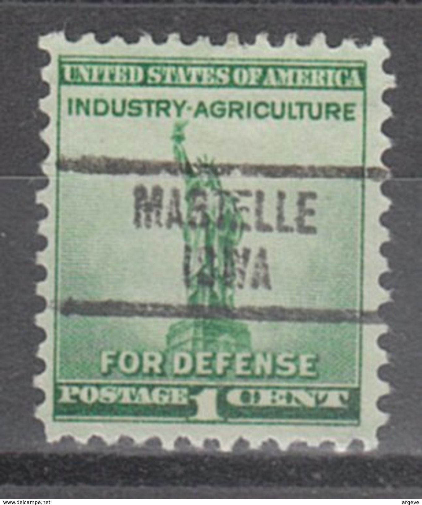 USA Precancel Vorausentwertung Preos Locals Iowa, Martelle 734 - Vereinigte Staaten