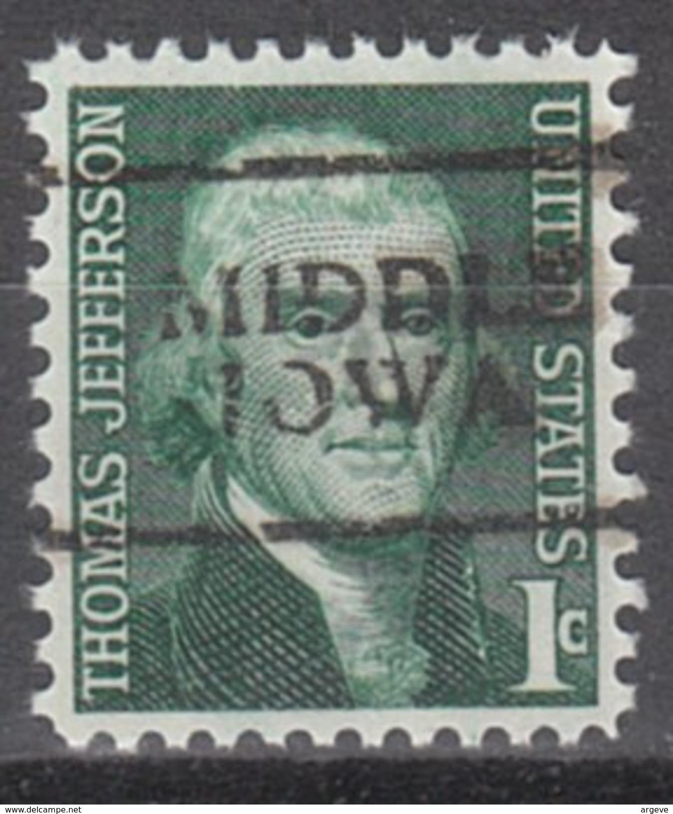 USA Precancel Vorausentwertung Preos Locals Iowa, Middle 701 - Vereinigte Staaten