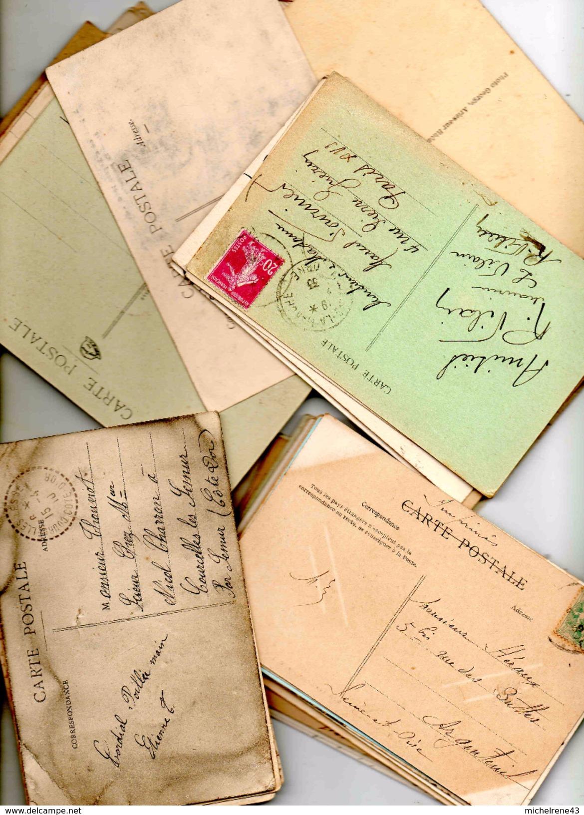 Lot Carte Postale FRANCE - Cartes Postales