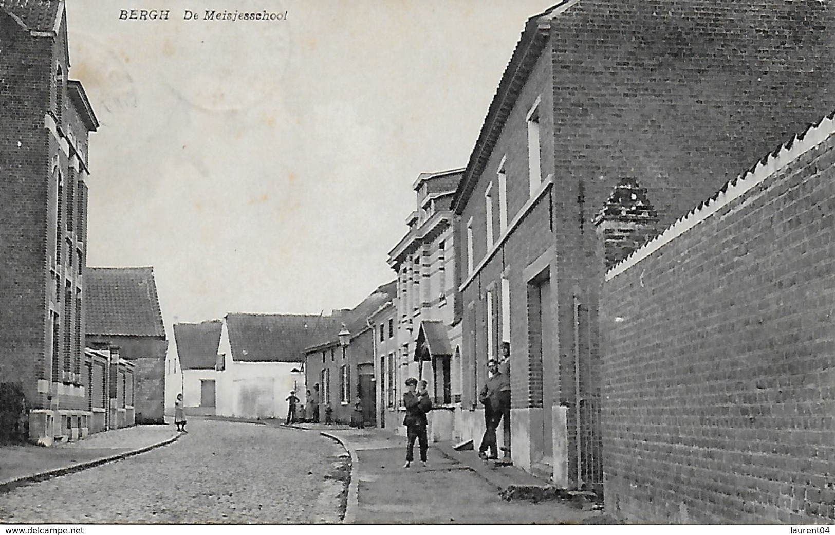 KAMPENHOUT.  BERGH.  DE MEISJESCHOOL. ANIMATION. - Kampenhout