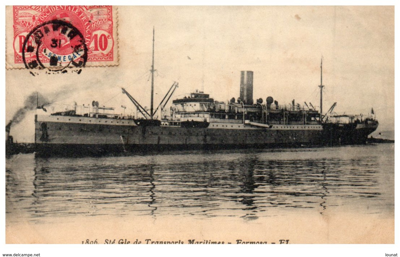 Bâteaux - Transports Maritime - Formosa (manque Au Dos ) - Commerce