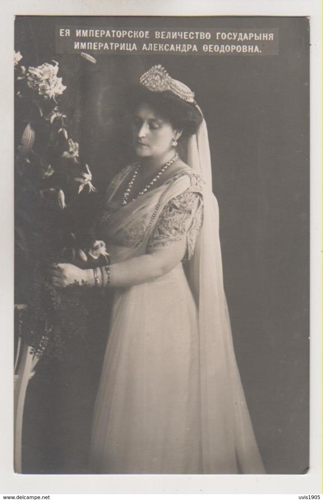 Russia Imperator Nicolas II Wife. - Russland