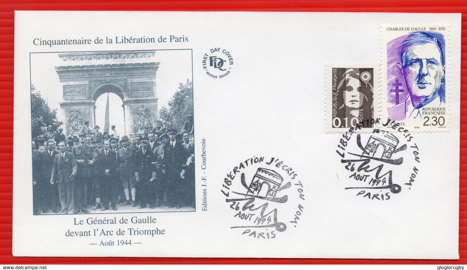 HOMMAGE AU GENERAL DE GAULLE Rare - De Gaulle (General)