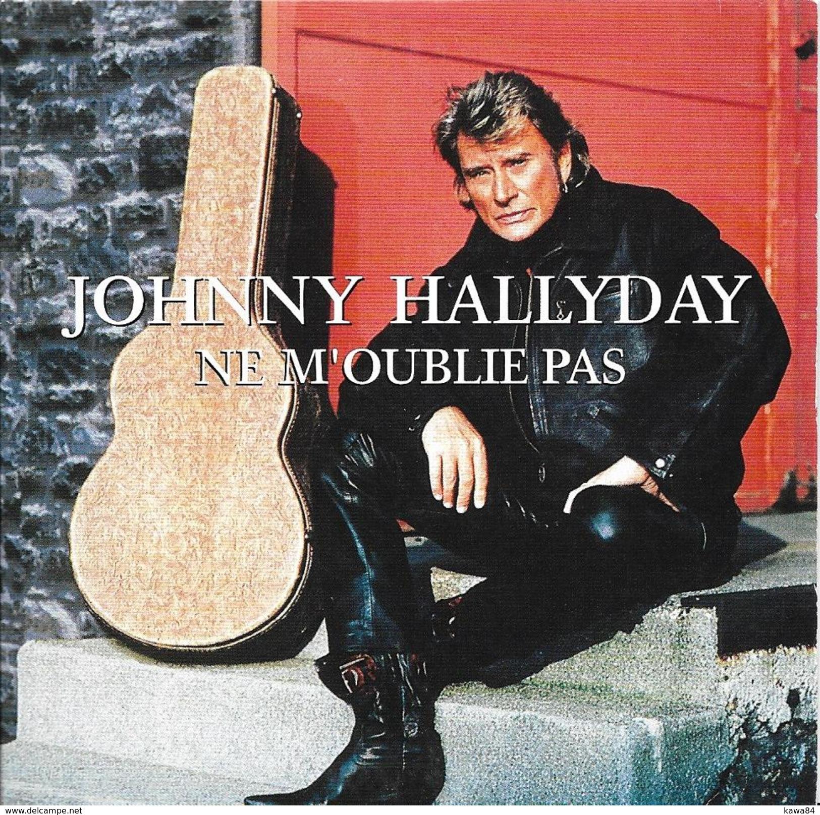 "Johnny Hallyday  ""  Ne M'oublie Pas  "" - Musik & Instrumente"