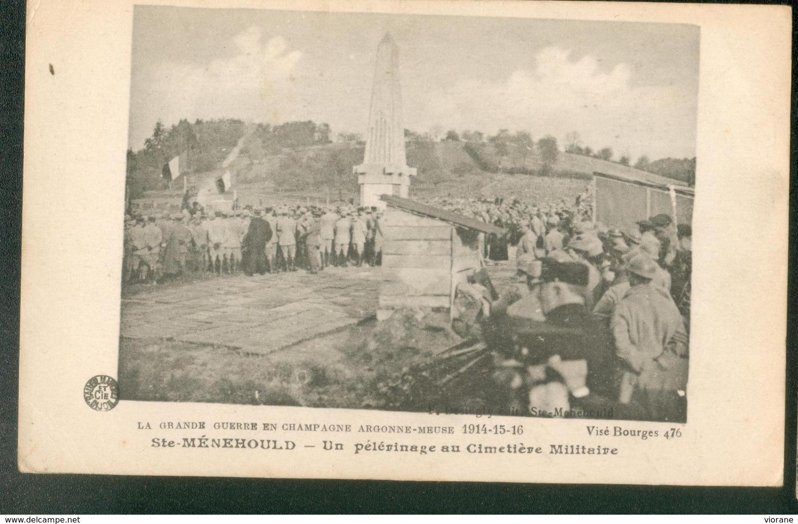 Un Pélerinage Au Cimetière Militaire - Sainte-Menehould