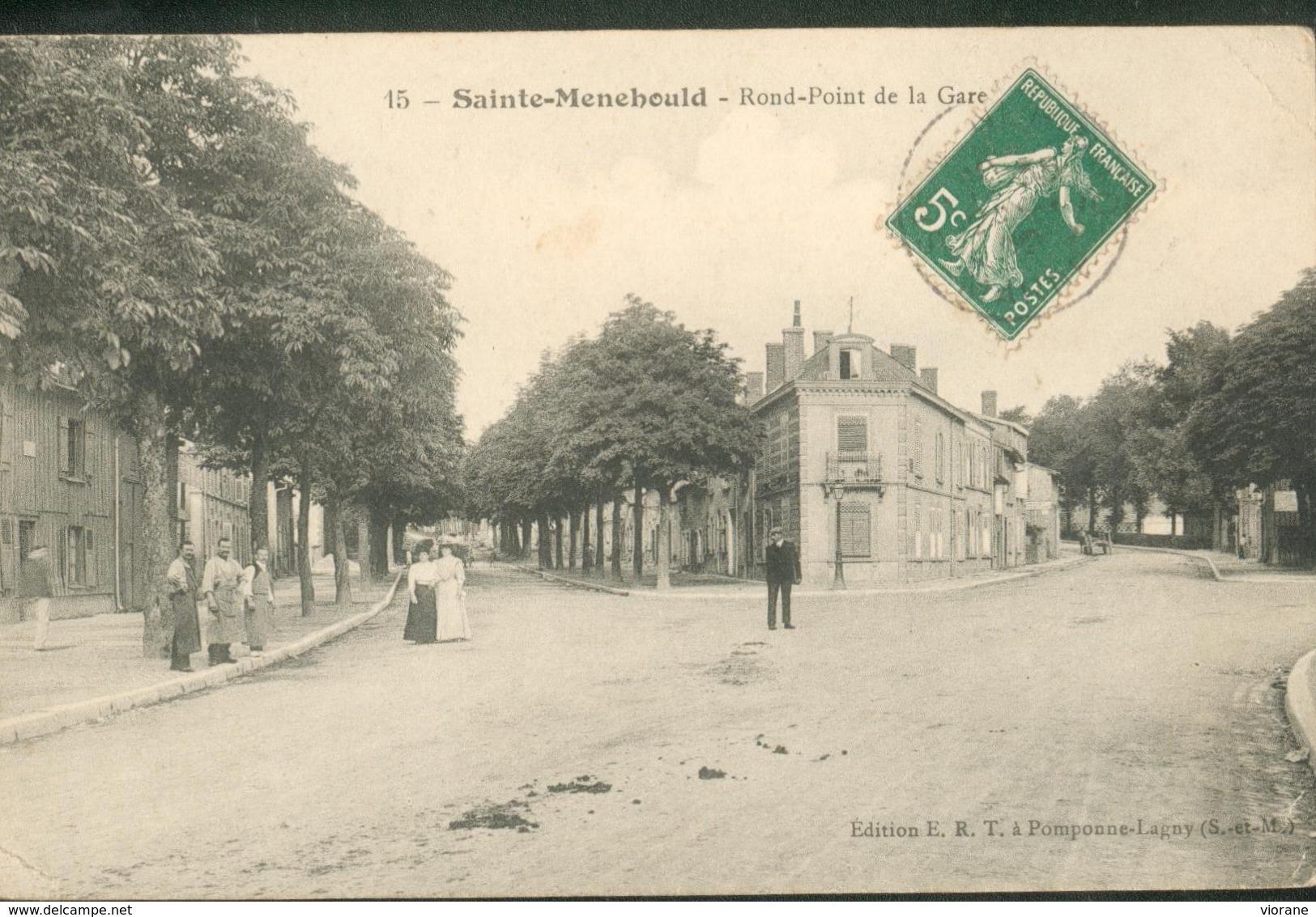 Rond Point De La Gare - Sainte-Menehould