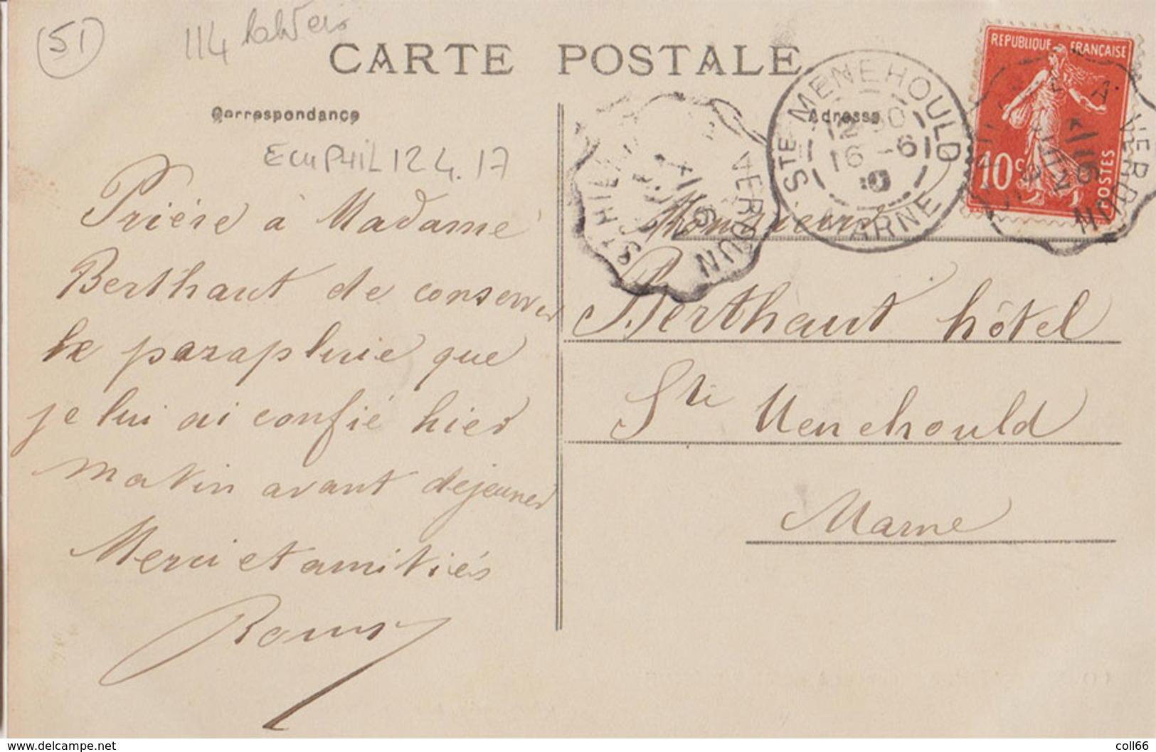 51 RARE Somme-Bionne Agriculteur Rouyer-Bazin Attelage Très Gros Plan Oberlaender Poto-éditeur Ste Menehould TOP - France