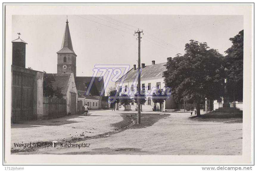 AK AUSTRIA A-0052 WEIGELSDORF - Weigelsdorf, N.Ö. - Kirchenplatz - Sonstige