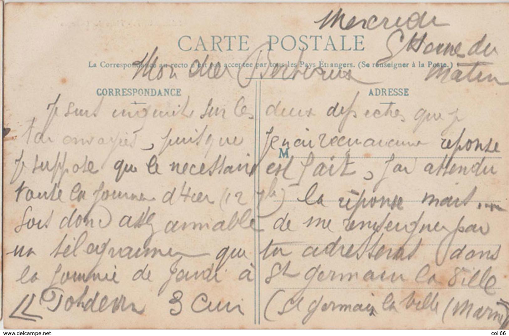08 Pauvres 1907 RARE Maison Oudart Frères Entrepreneurs De Batiments éditeur Sans Dos Scanné - Autres Communes