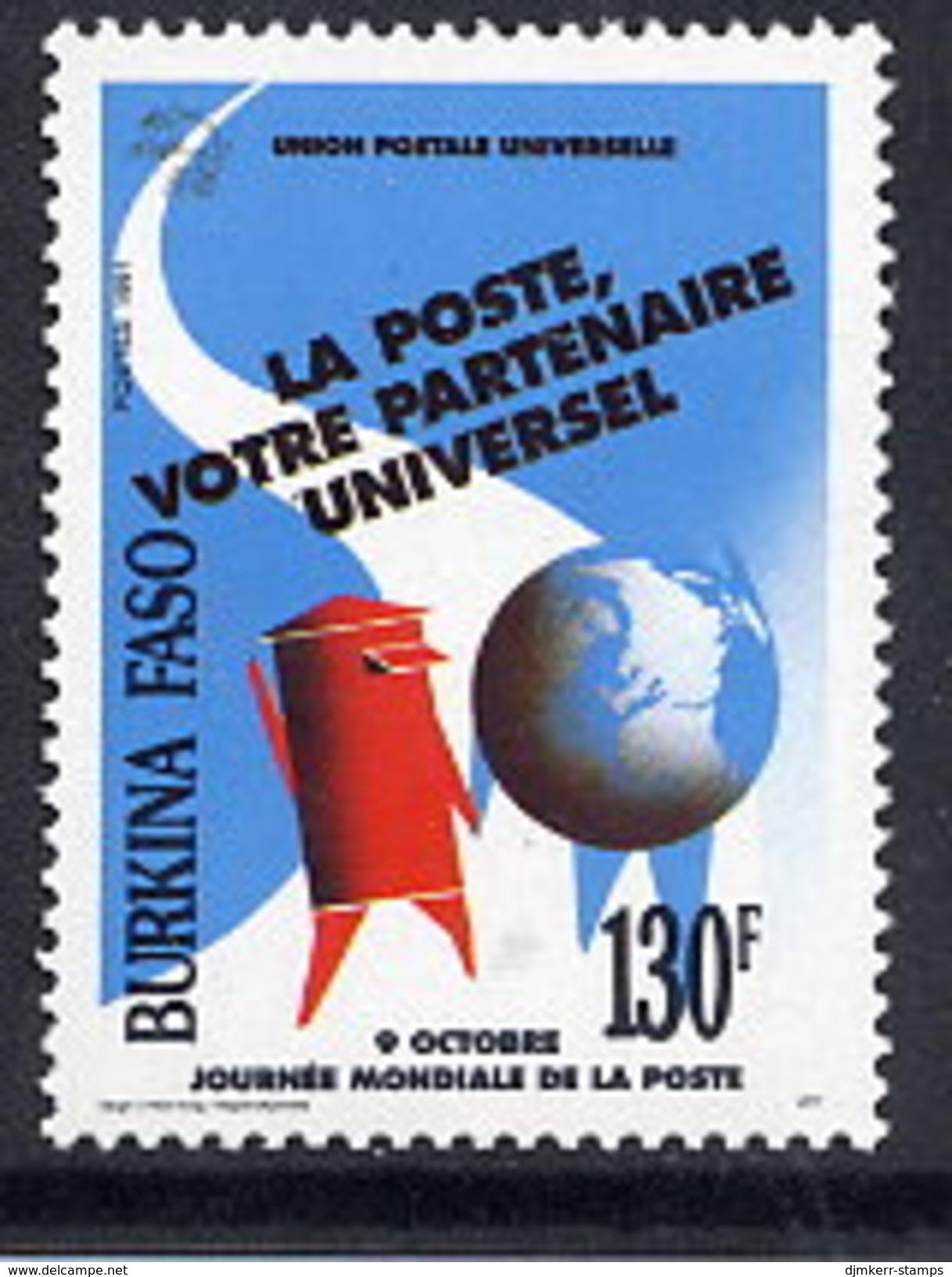 BURKINA FASO 1991 Postal Service  MNH / **  Michel 1260 - Burkina Faso (1984-...)