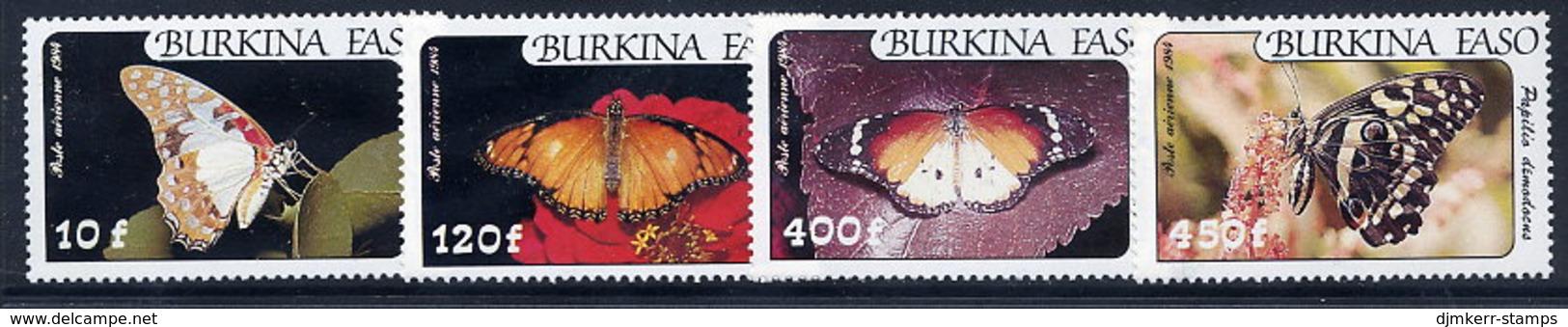 BURKINA FASO 1984 Butterflies MNH / ** - Burkina Faso (1984-...)