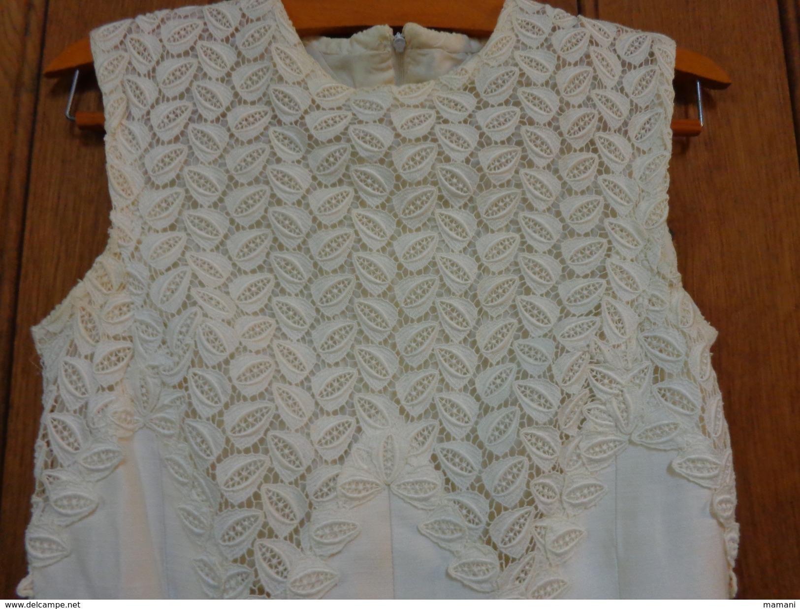 Robe Blanche Sans Manche - Wedding