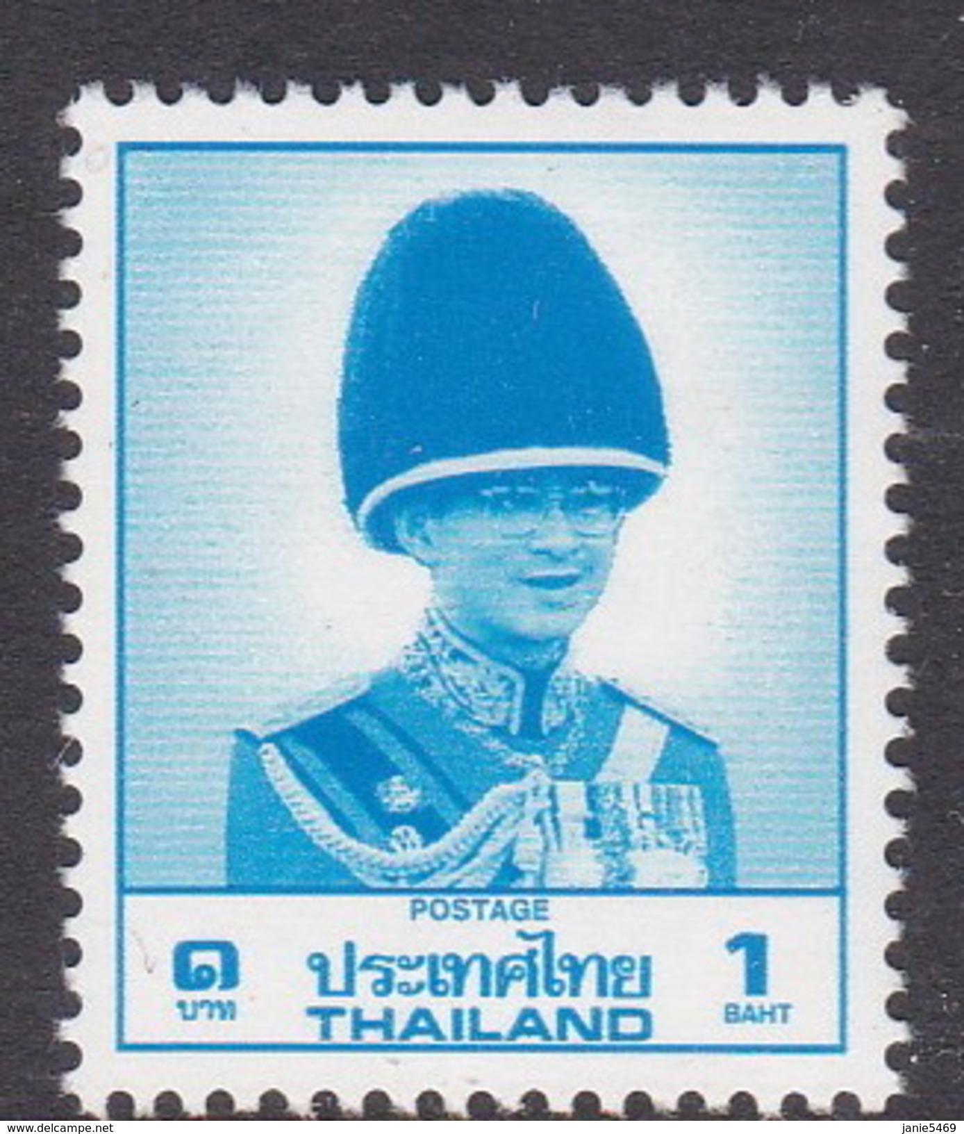 Thailand SG 1337 1988 King Rama IX  1 Baht MNH - Thailand