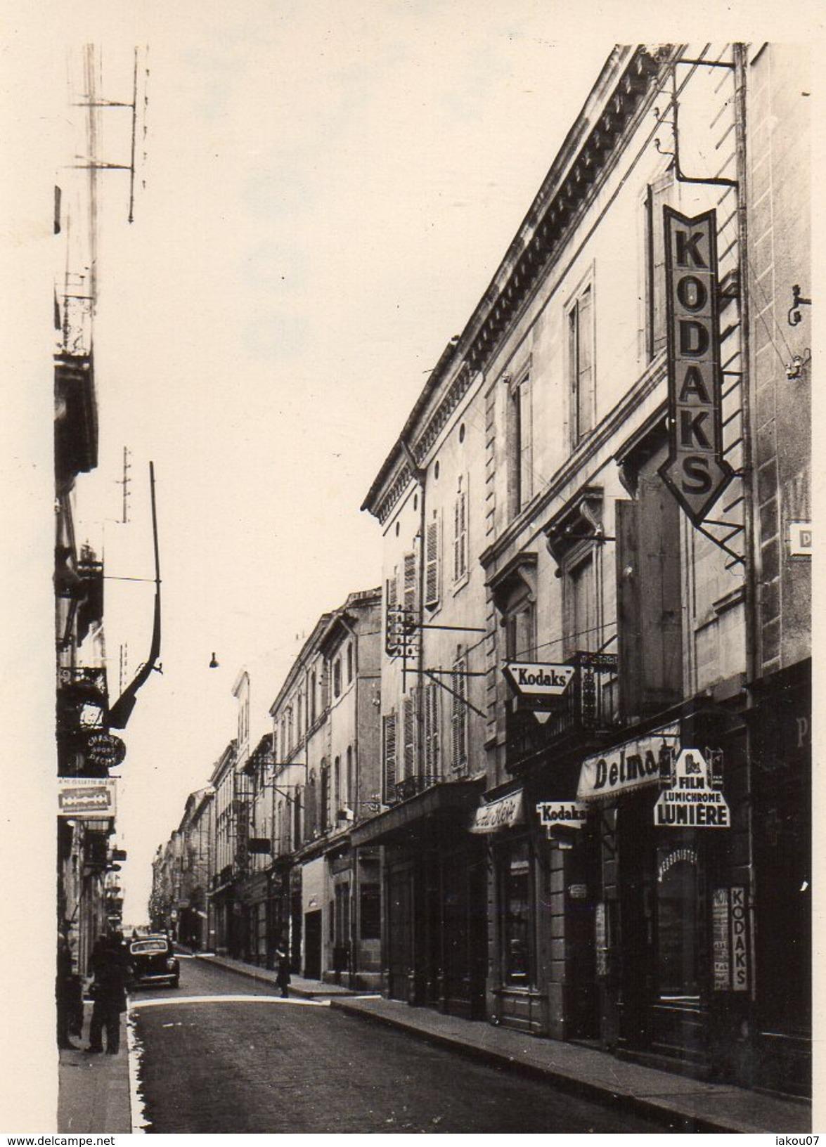 ALAIS / ALES//A VOIR  LOT DE 15 PHOTOS AMATEUR PRISE EN 1943 /// FORMAT 6,5CM PAR 7,5CM - Alès