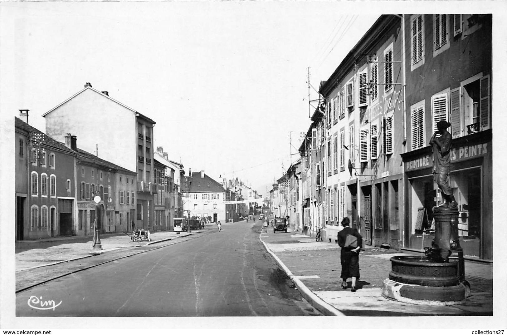 88-SENONES- LA GRANDE RUE - Senones