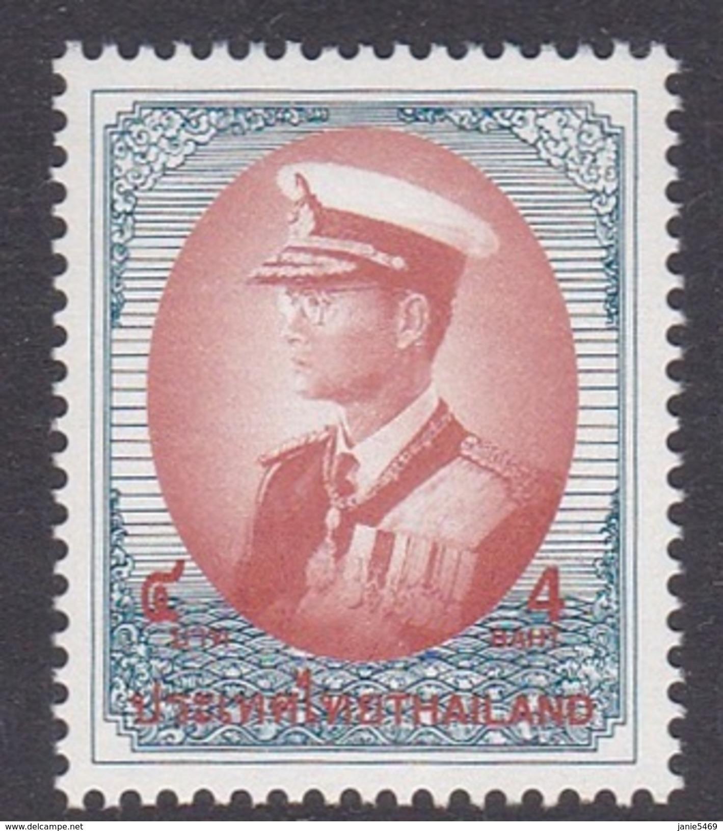 Thailand Scott 1725b 2000 King Rama IX 4 Baht MNH - Thailand