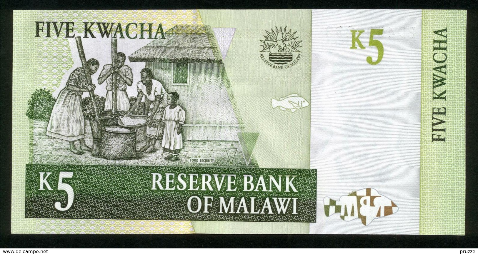 Malawi 2005, 5 Kwacha - UNC - BD4599233 - Malawi