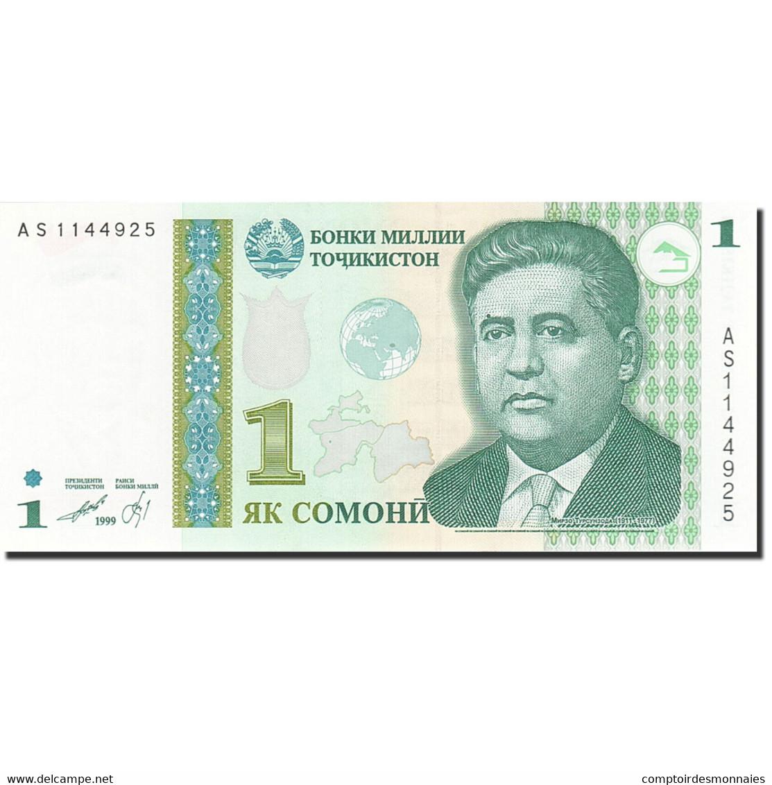 Tajikistan, 1 Somoni, 1999, KM:14A, 2010, NEUF - Tadjikistan