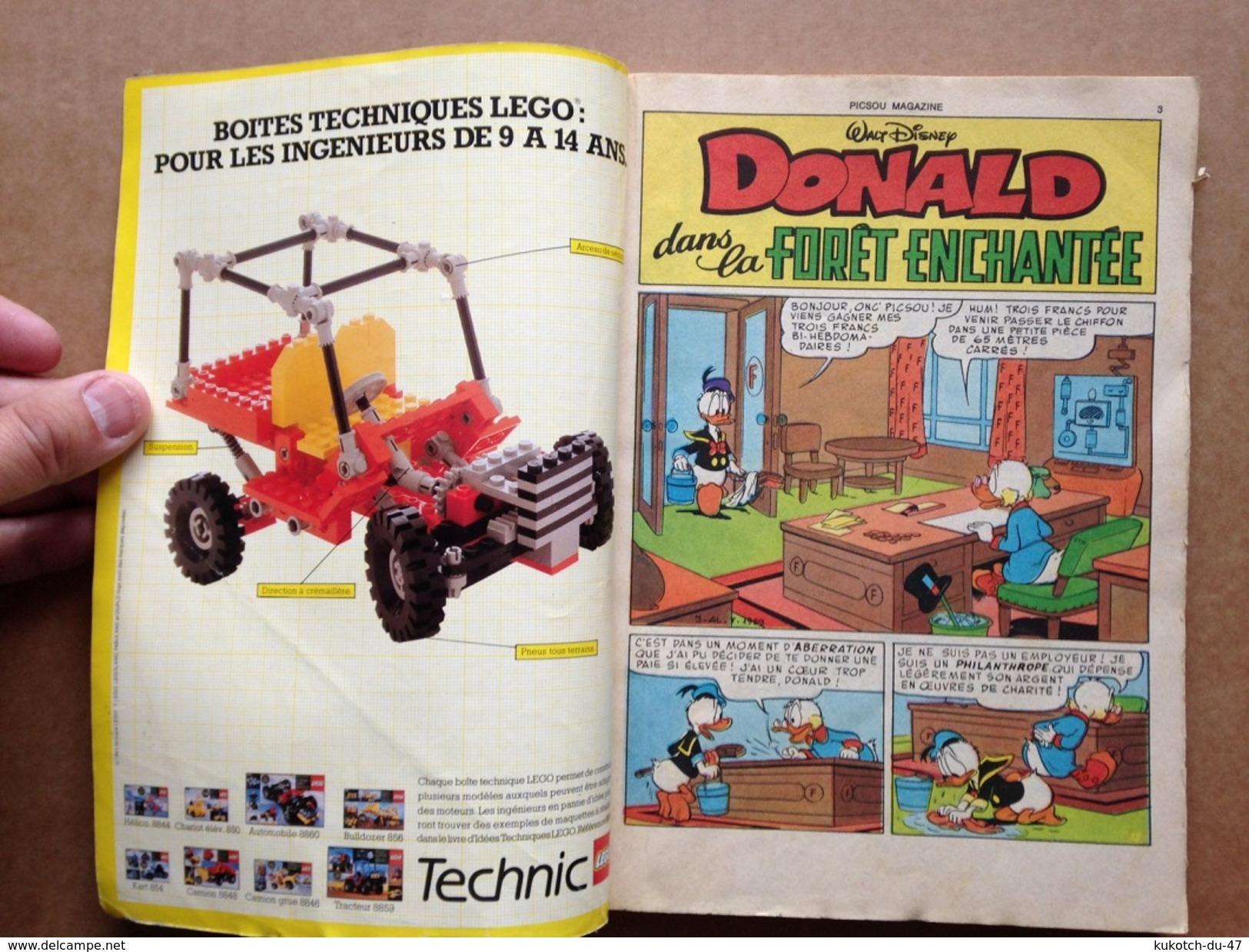 Disney - Picsou Magazine ° Année 1983 - N°141 - Picsou Magazine