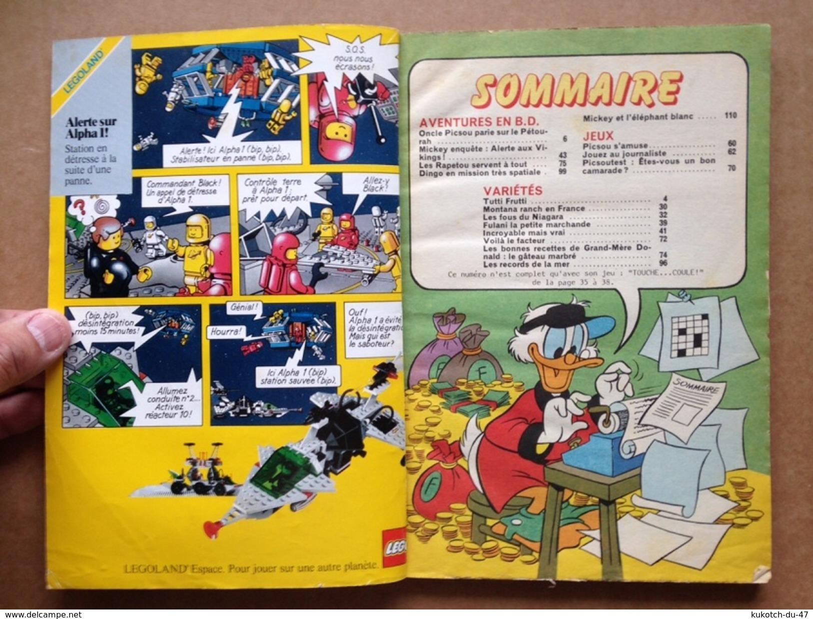 Disney - Picsou Magazine ° Année 1985 - N°158 - Picsou Magazine