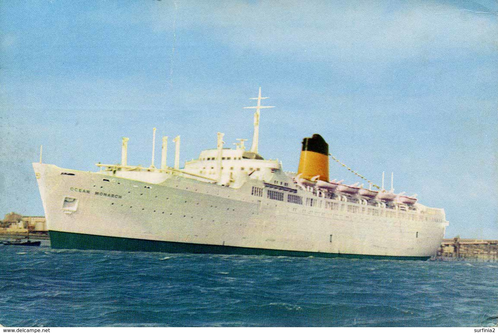SHIPPING - SHAW SAVILL LINE - SS OCEAN MONARCH Ship94 - Steamers