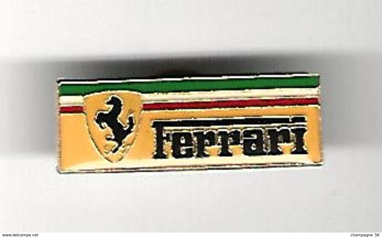 PIN ' S   FERRARI CHEVAL - Ferrari