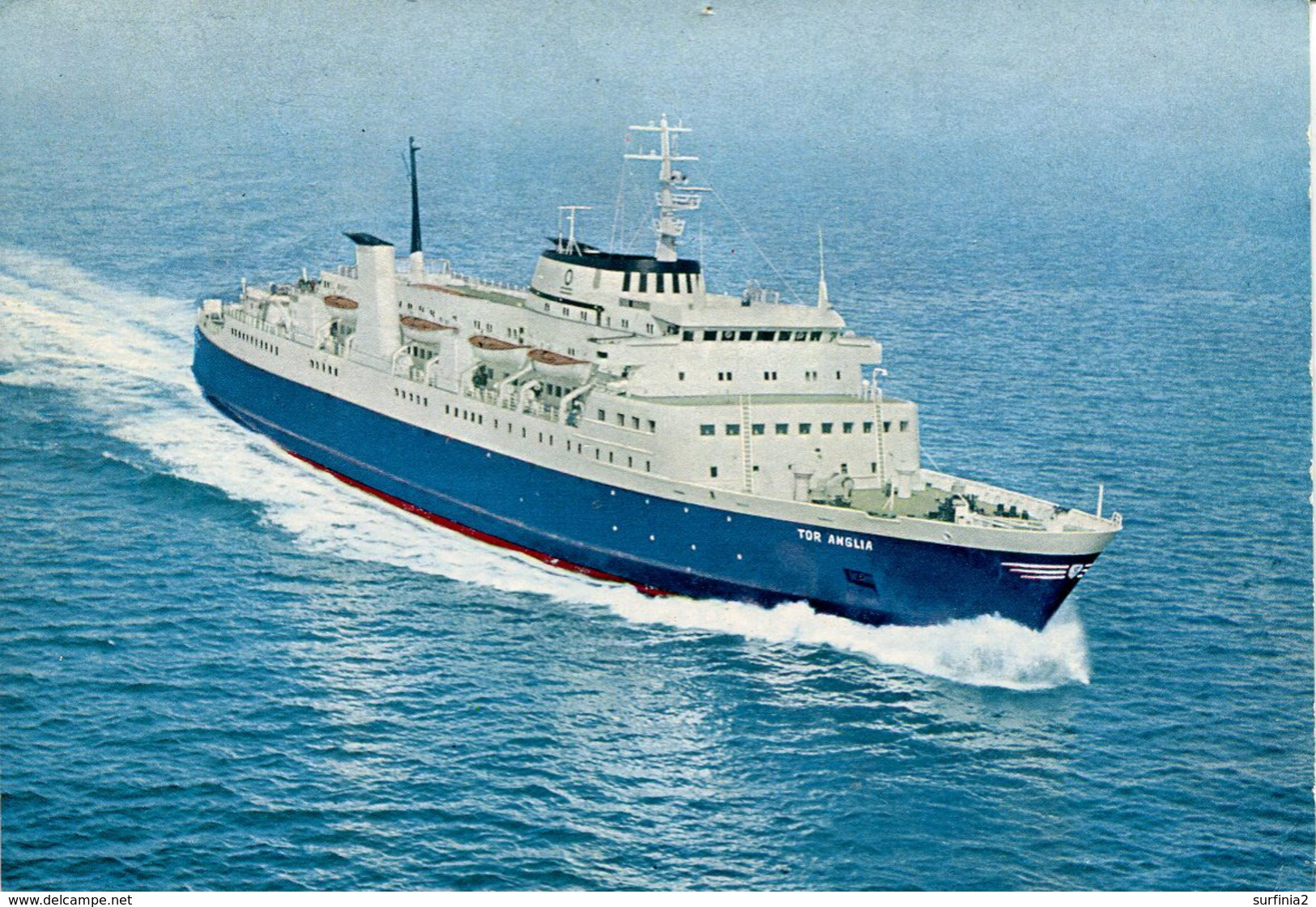 SHIPPING - M/S TOR ANGLIA Ship128 - Steamers