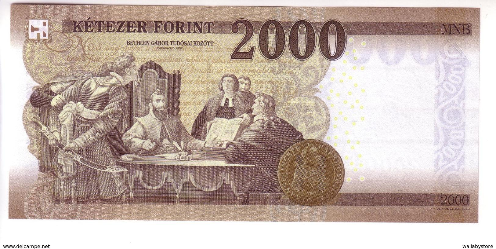 Hungary 2000 Forint (2016/17) Pnew UNC - Ungarn