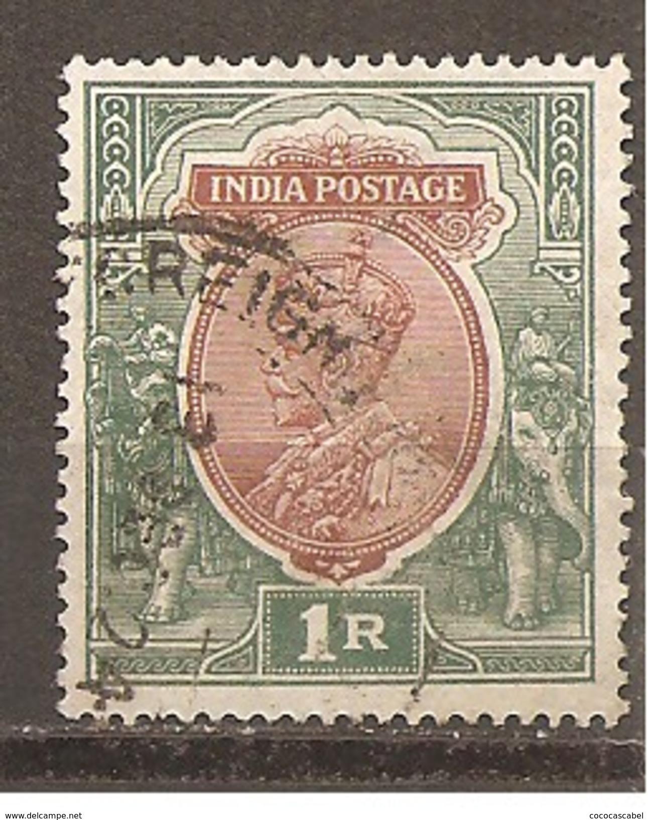 India Inglesa -  Nº Yvert 91 (usado) (o) - India (...-1947)