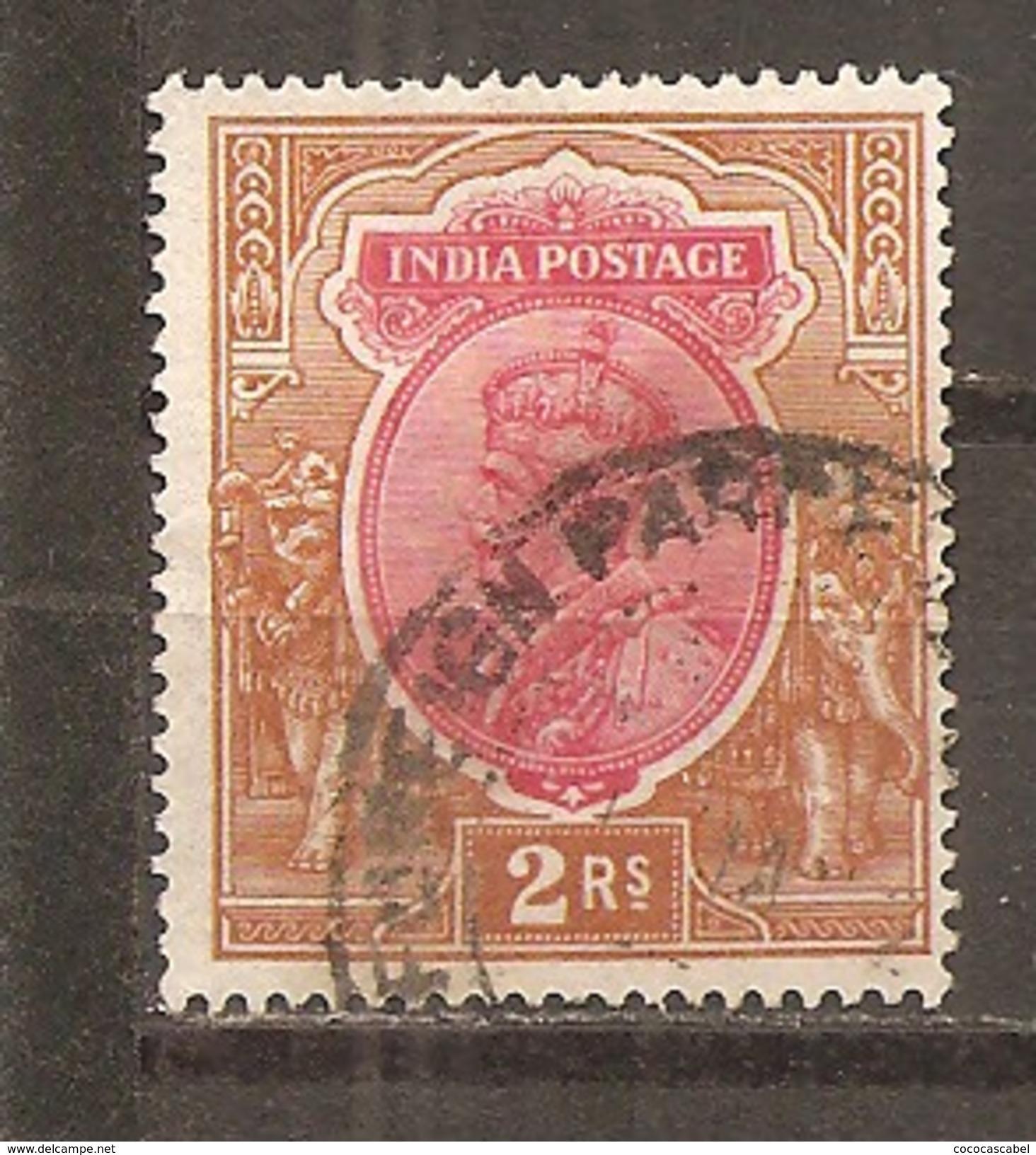 India Inglesa -  Nº Yvert 92 (usado) (o) - India (...-1947)