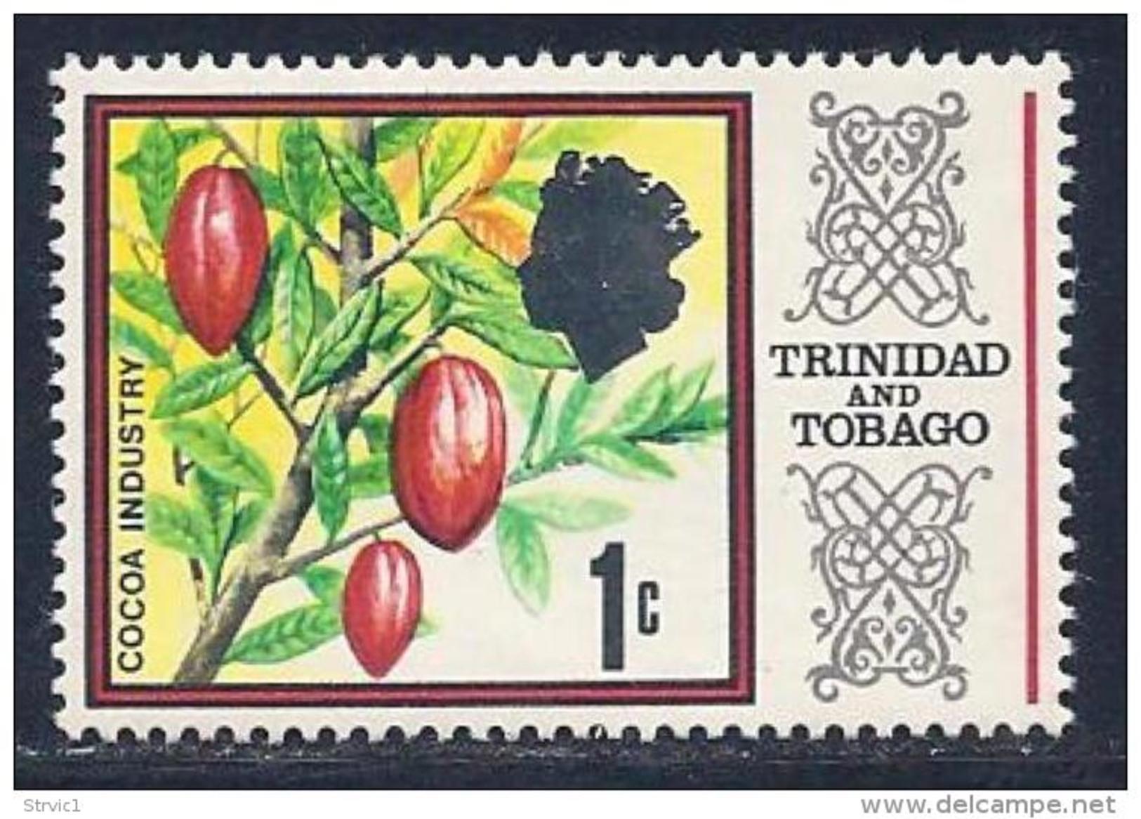 Trinidad & Tobago, Scott # 144 MNH Cocoa Industry, 1969 - Trinidad & Tobago (1962-...)