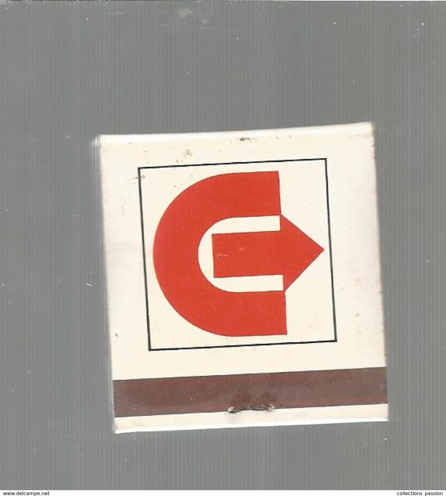 G-I-E , Tabac , Boite , Pochette D'ALLUMETTES, 2 Scans, Publicité, CATENA - Matchbox Labels