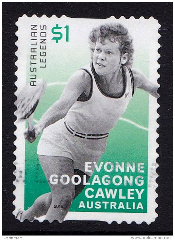 Australia 2016 Tennis Legends $1 Goolagong Self-adhesive Used - 2010-... Elizabeth II