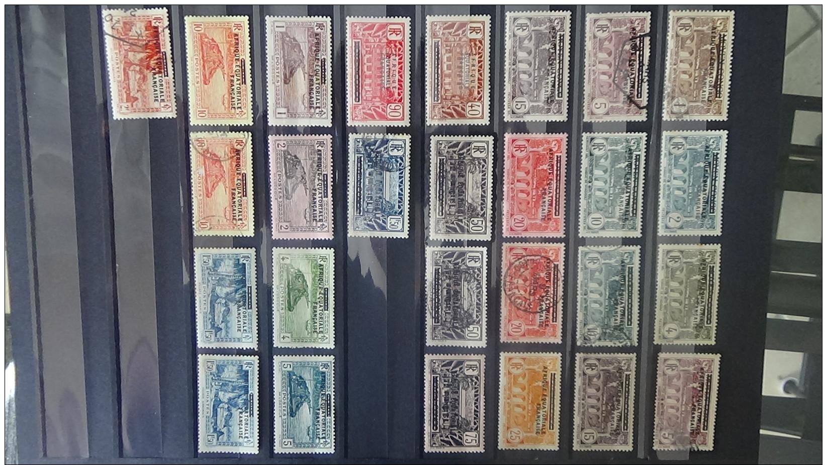 B Collections Anciennes Colonies Françaises Tous états. Pas Commun. Voir Commentaires !!! - Timbres