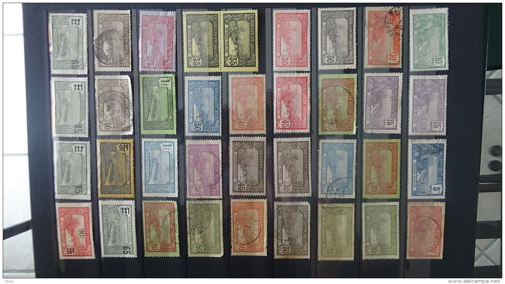 B Collections Anciennes Colonies Françaises Tous états. Pas Commun. Voir Commentaires !!! - Stamps