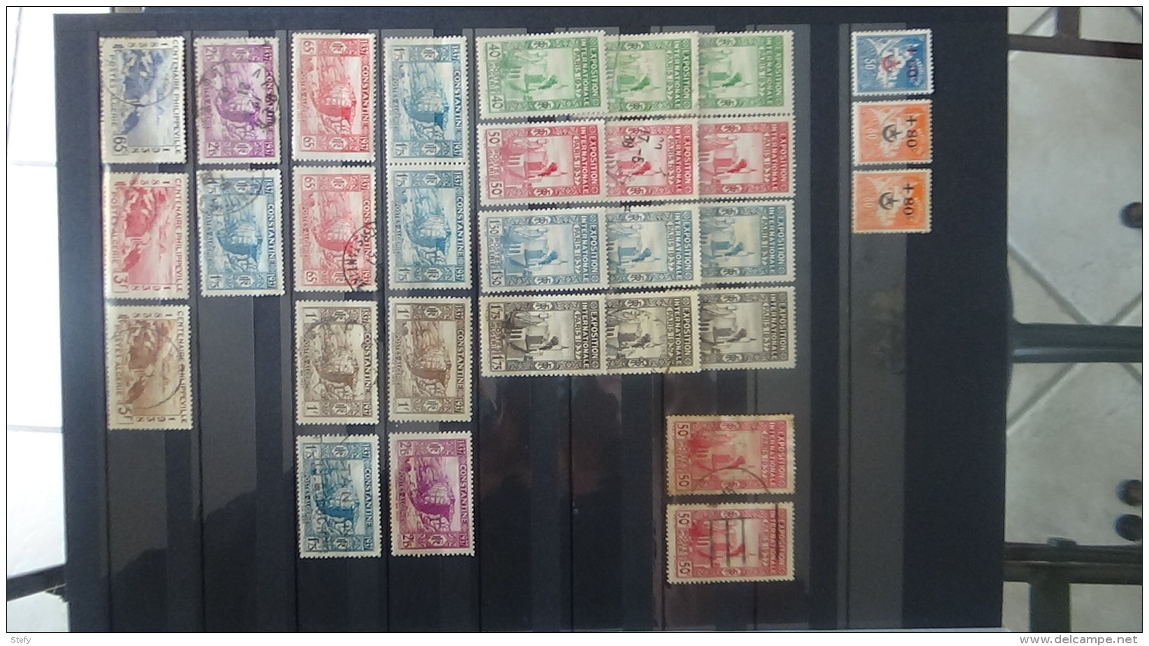 B Collections Anciennes Colonies Françaises Tous états. Pas Commun. Voir Commentaires !!! - Collections (en Albums)