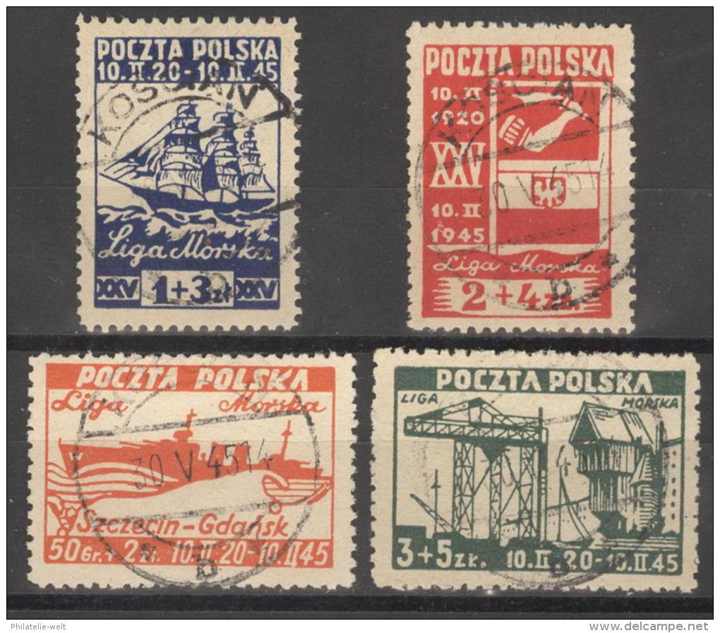 Polen 399/402 O - 1944-.... Republik