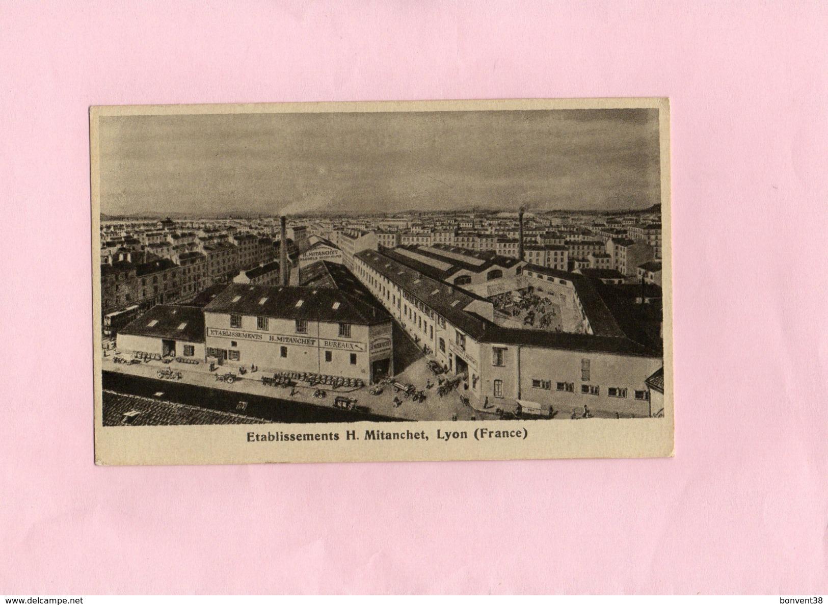Carte Postale - Etablissements H. Mitanchet à LYON - Sonstige