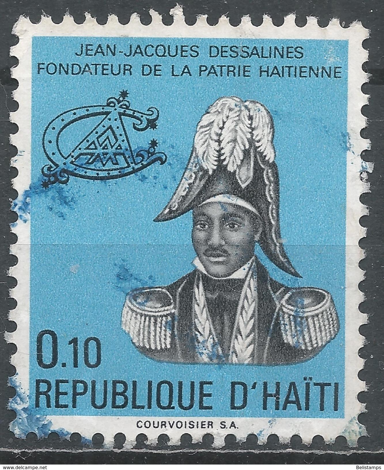 Haiti 1972, Scott #658 (U) J. J. Dessalines - Haïti