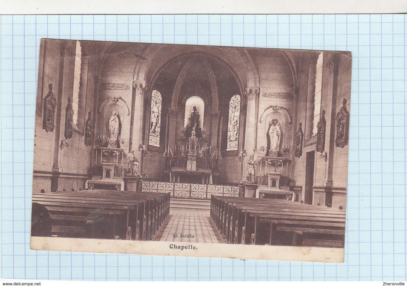 CPA - CHATEAU SALINS (Moselle) - Pensionnat Sainte Marie  - Chapelle - Chateau Salins