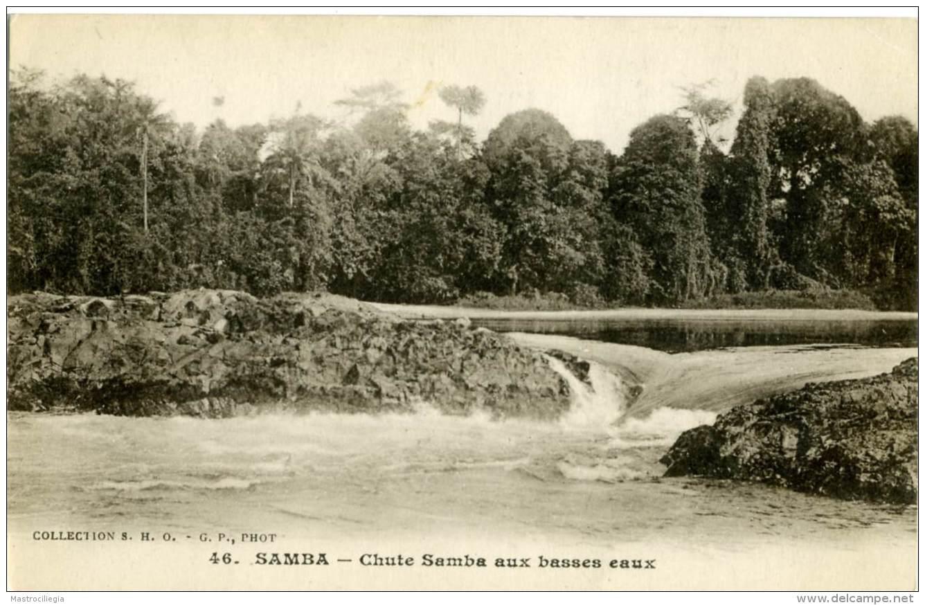 GABON  SAMBA  Chute Samba Aux Basses Eaux  Libreville - Gabon