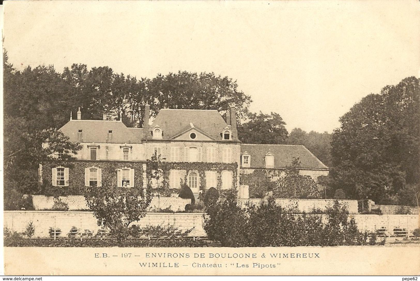 Wimille-chateau Les Pipots-cpa - Andere Gemeenten