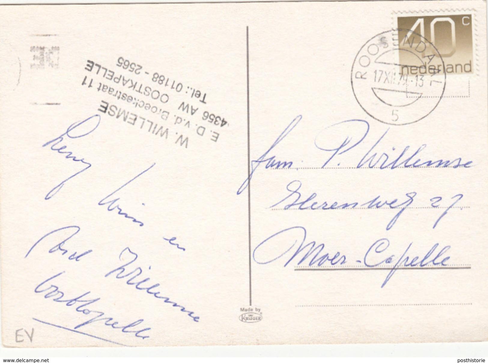 Ansicht 17 Dec 1979 Roosendaal (type Openbalk) - Postal History